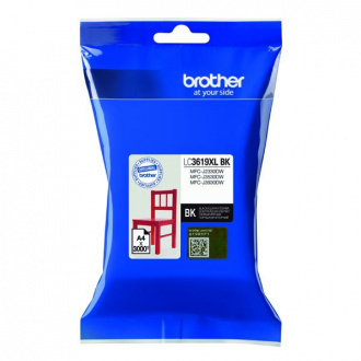 Brother LC-3619-XL (LC3619XLBK) - cartridge, black (čierna)