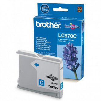 Brother LC-970 (LC970C) - cartridge, cyan (azúrová)