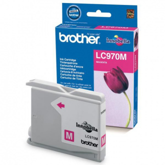 Brother LC-970 (LC970M) - cartridge, magenta (purpurová)