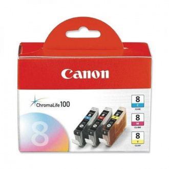 Canon CLI-8 (0621B029) - cartridge, color (farebná)