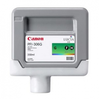 Canon PFI-306 (6664B001) - cartridge, green (zelená)