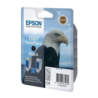 Epson T0074 (C13T00740210) - cartridge, black (čierna) 2ks