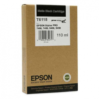 Epson T6118 (C13T611800) - cartridge, black (čierna)