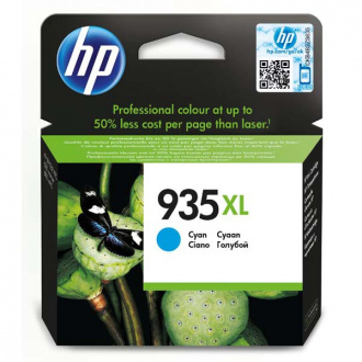 HP 935-XL (C2P24AE) - cartridge, cyan (azúrová)