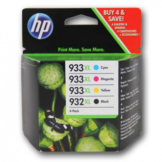 HP 933-XL (C2P42AE) - cartridge, black + color (čierna + farebná)