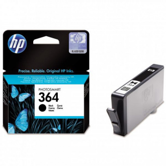 HP 364 (CB316EE) - cartridge, black (čierna)