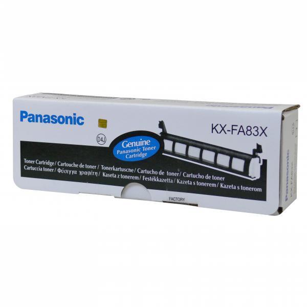 Panasonic KX-FA83X - originálny toner, čierny, 2500 strán
