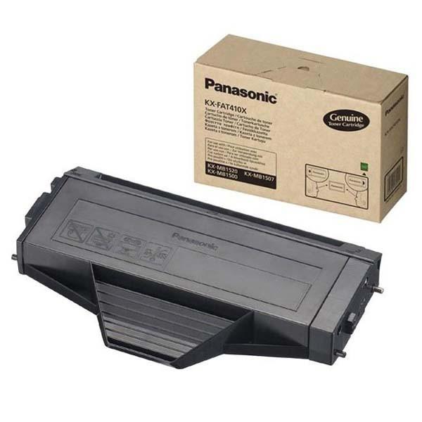 Panasonic KX-FAT410E - originálny toner, čierny, 2500 strán