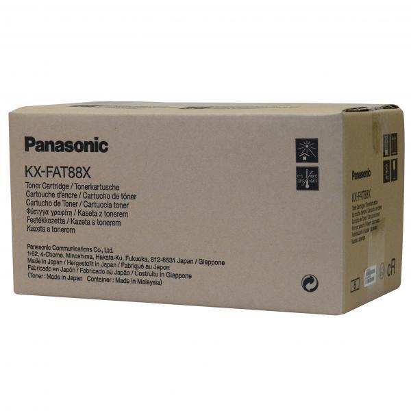 Panasonic KX-FAT88E - originálny toner, čierny