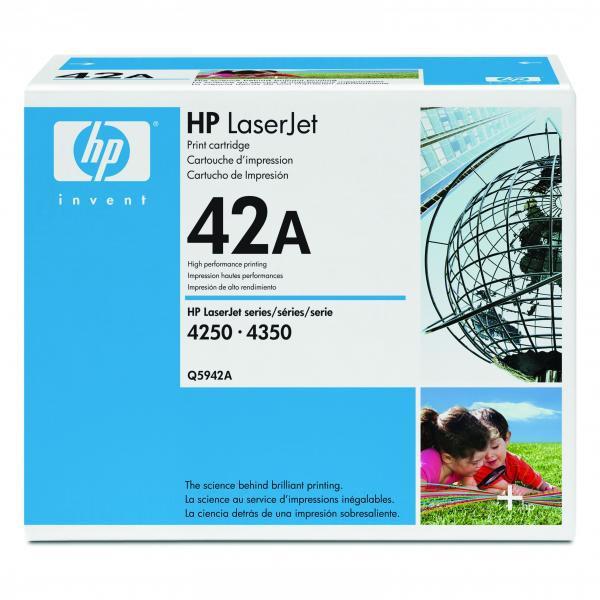 HP Q5942A - originálny toner HP 42A, čierny, 10000 strán