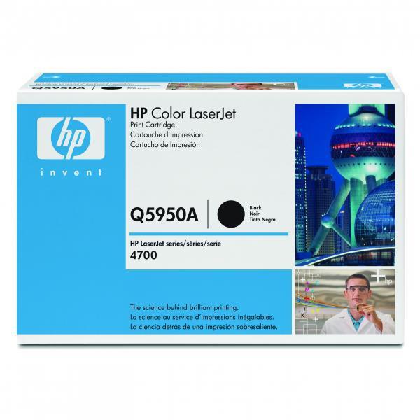 HP Q5950A - originálny toner HP 643A, čierny, 11000 strán