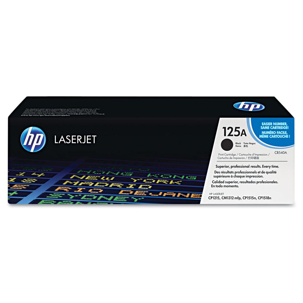 HP CB540A - originálny toner HP 125A, čierny, 2200 strán