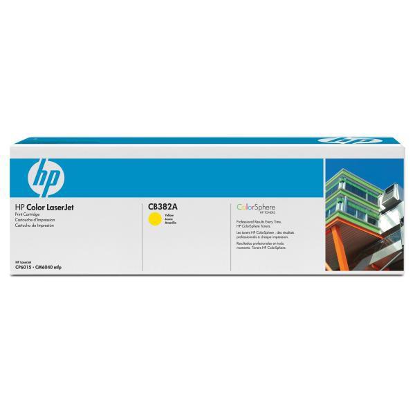 HP CB382A - originálny toner HP 824A, žltý, 21000 strán