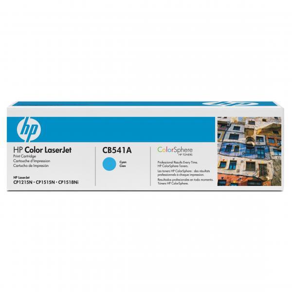 HP CB541A - originálny toner HP 125A, azúrový, 1400 strán