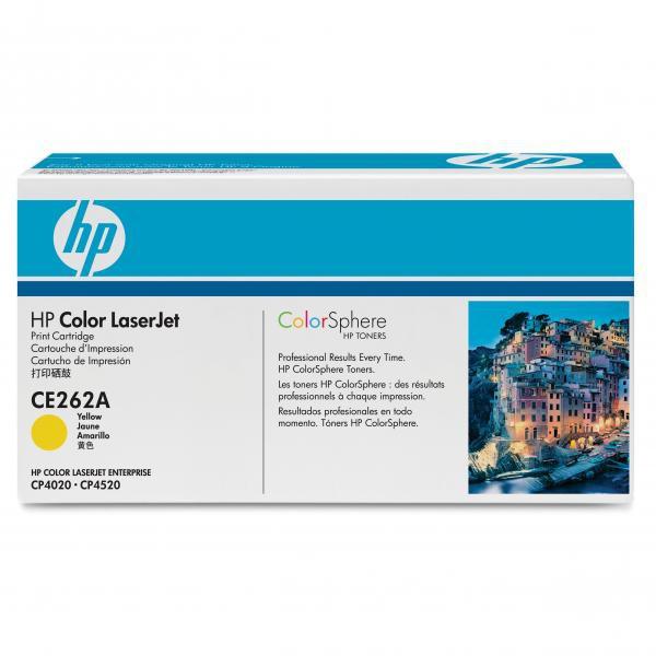 HP originál toner CE262A, yellow, 11000str., HP 648A, HP Color LaserJet CP4025, CP4525