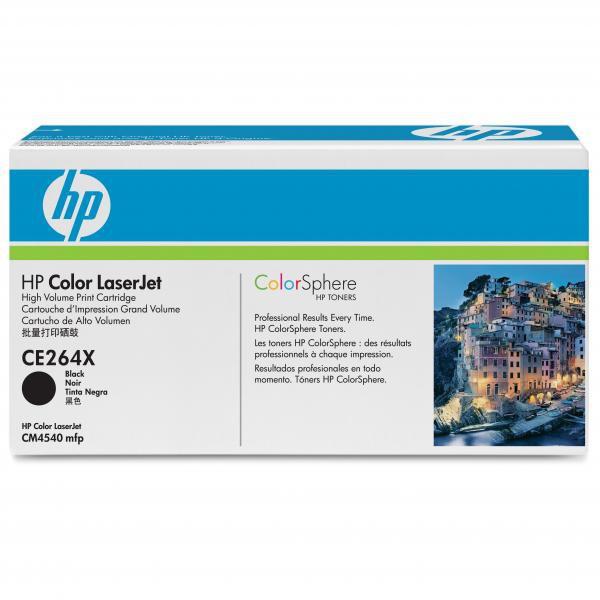 HP CE264X - originálny toner HP 646X, čierny, 17000 strán