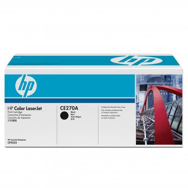 HP CE270A - originálny toner HP 650A, čierny, 13500 strán