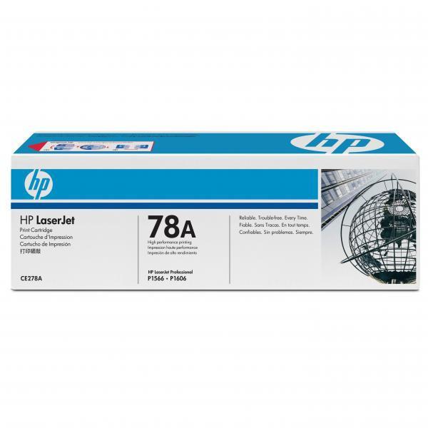 HP CE278A - originálny toner HP 78A, čierny, 2100 strán