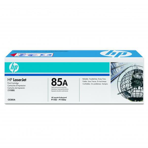 HP CE285A - originálny toner HP 85A, čierny, 1600 strán