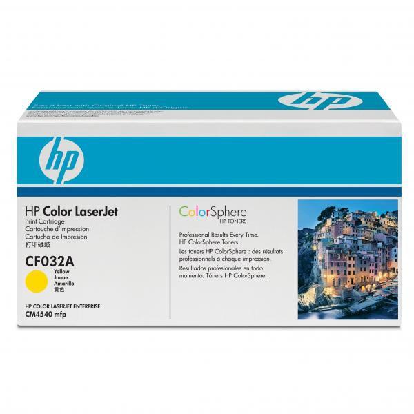 HP CF032A - originálny toner HP 646A, žltý, 12500 strán