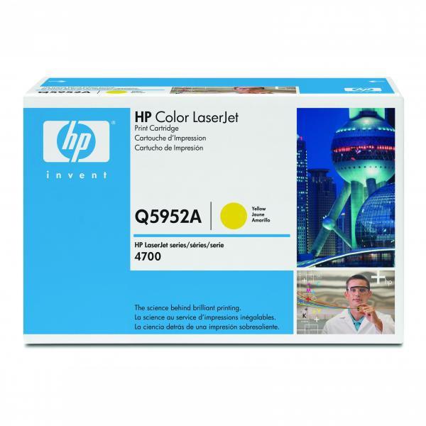 HP Q5952A - originálny toner HP 643A, žltý, 10000 strán