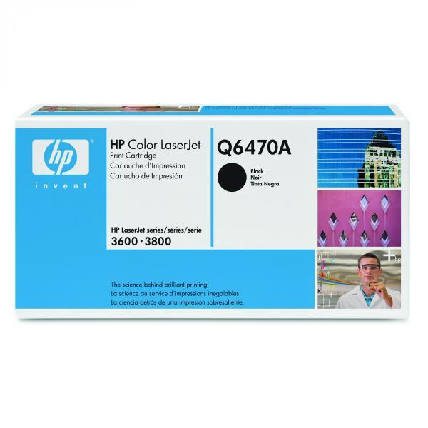 HP originál toner Q6470A, black, 6000str., HP 502A, HP Color LaserJet 3600, n, dn, dtn, 3800, n, dn, dtn