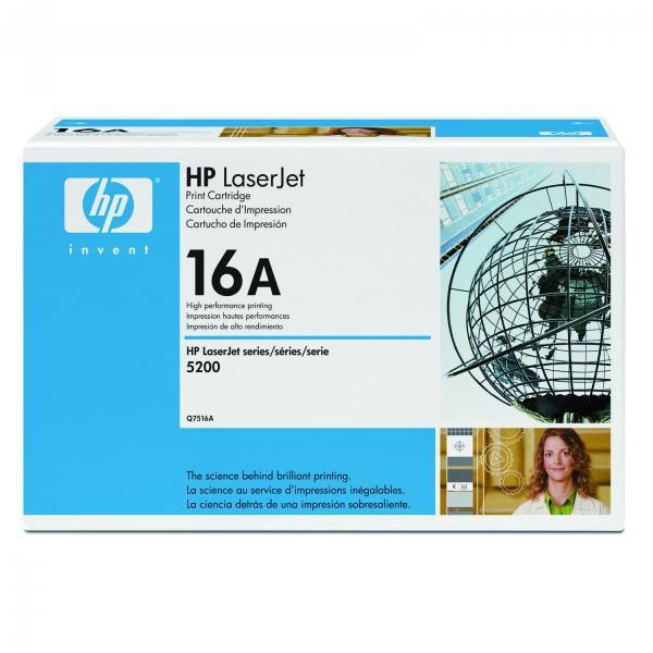 HP Q7516A - originálny toner HP 16A, čierny, 12000 strán