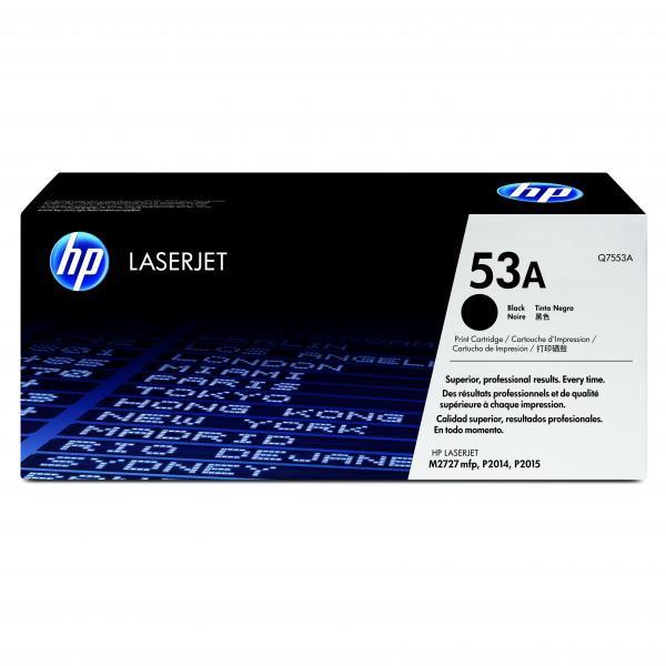HP Q7553A - originálny toner HP 53A, čierny, 3000 strán