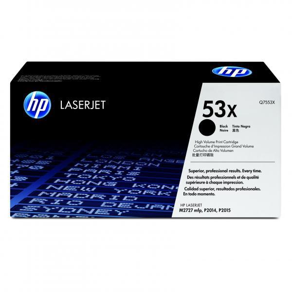 HP Q7553X - originálny toner HP 53X, čierny, 7000 strán