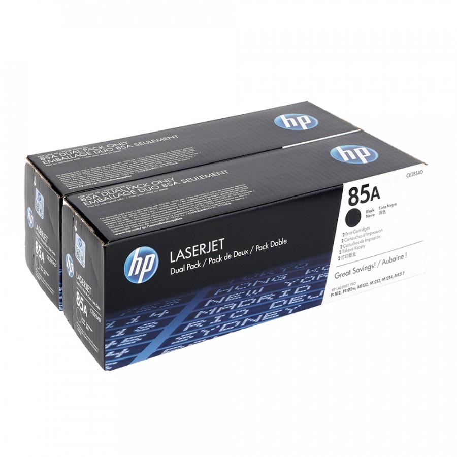 HP CE285AD - originálny toner HP 85A, čierny, 2x1600