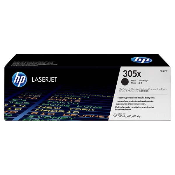 HP originál toner CE410X, black, 4000str., HP 305X, HP Color LaserJet Pro M375NW, Pro M475DN