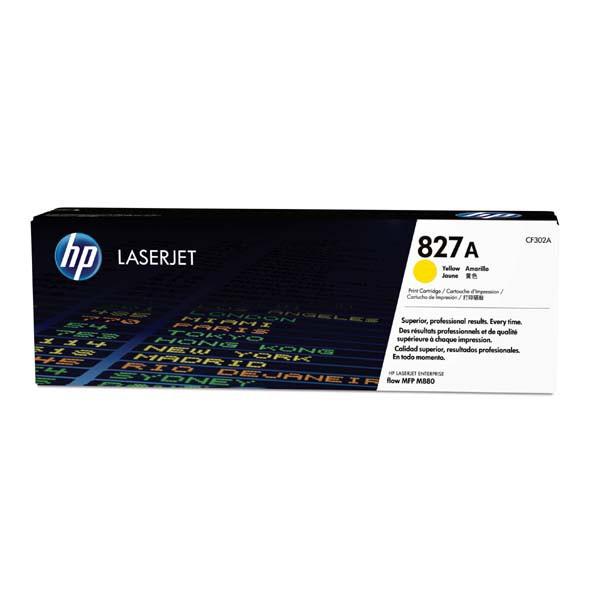 HP CF302A - originálny toner HP 827A, žltý, 32000 strán