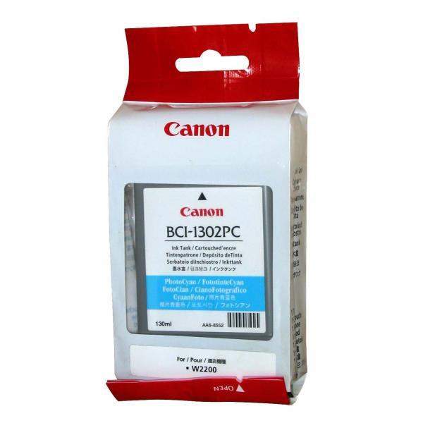 Canon originál ink BCI1302C, cyan, 7718A001, Canon BJ-W2200