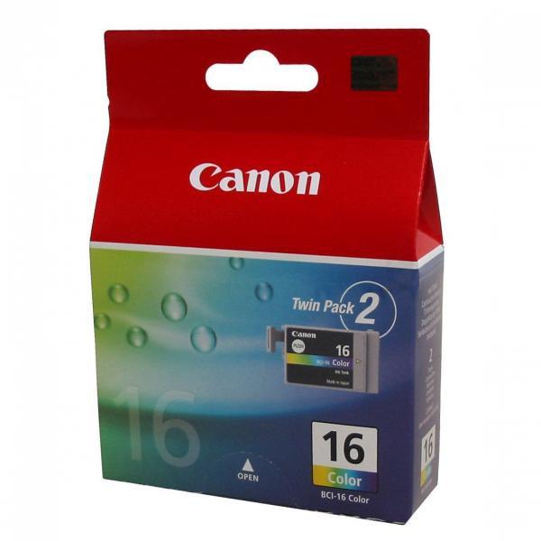 Canon BCI-16 - originálna cartridge, farebná, 2x7ml