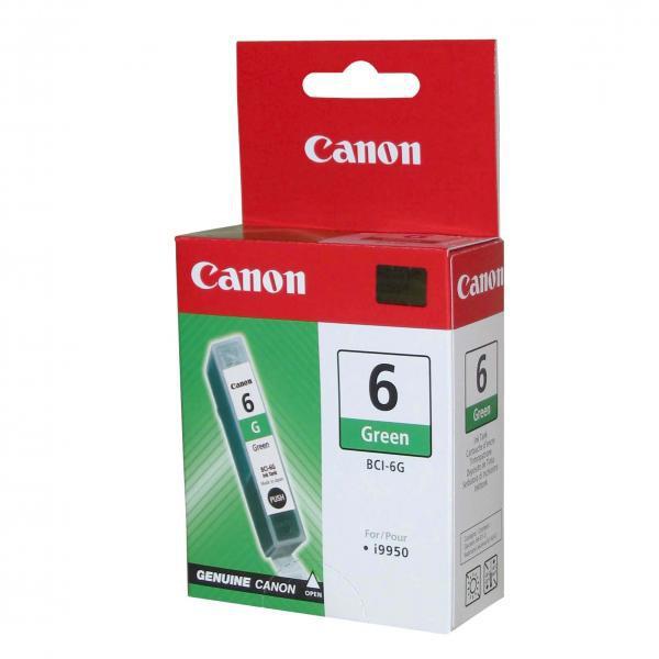 Canon BCI-6 - originálna cartridge, zelená, 13ml