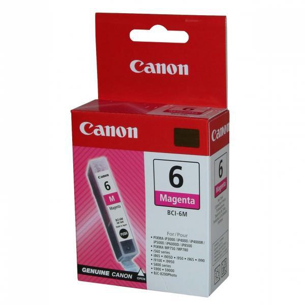 Canon BCI-6 (4707A002) - originálna cartridge, purpurová, 13ml