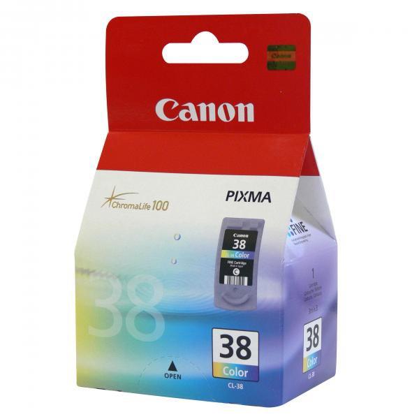 Canon CL-38 - originálna cartridge, farebná, 9ml