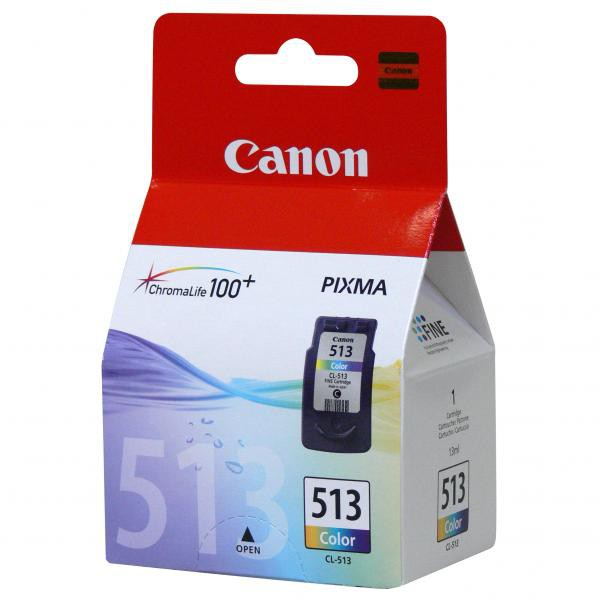 Canon CL-513 - originálna cartridge, farebná, 350 strán