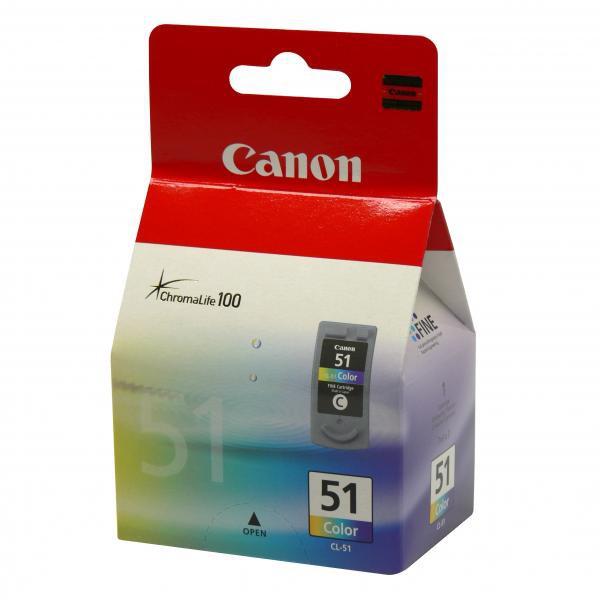 Canon CL-51 - originálna cartridge, farebná, 21ml