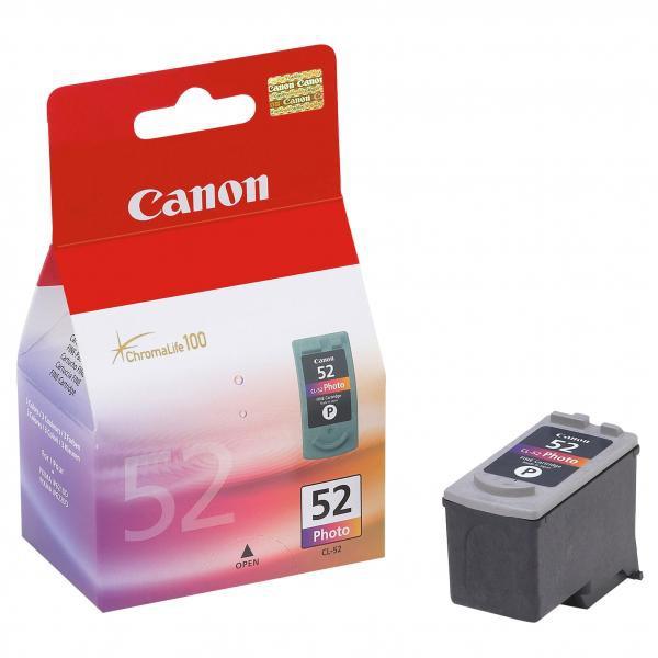 Canon CL-52 - originálna cartridge, farebná, 3x7ml
