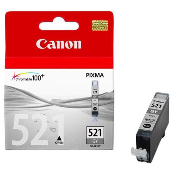 Canon originál ink CLI521GY, grey, 1395str., 9ml, 2937B001, Canon MP980