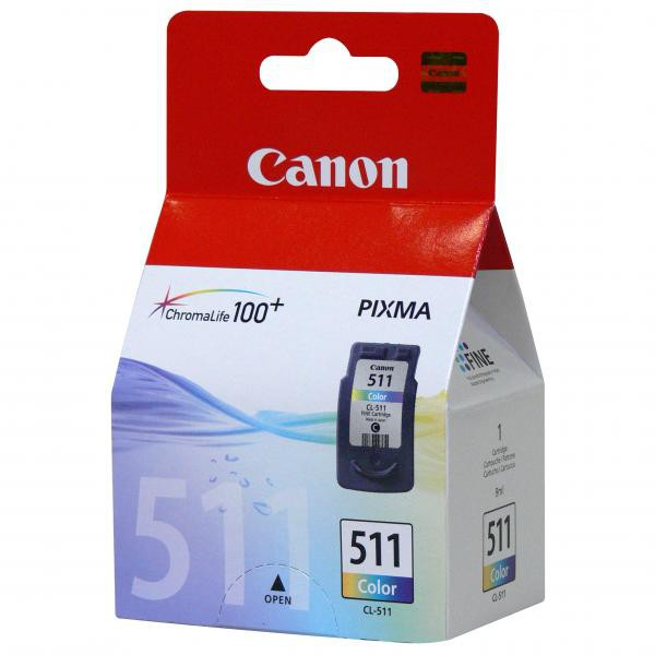 Canon CL-511 - originálna cartridge, farebná, 9ml