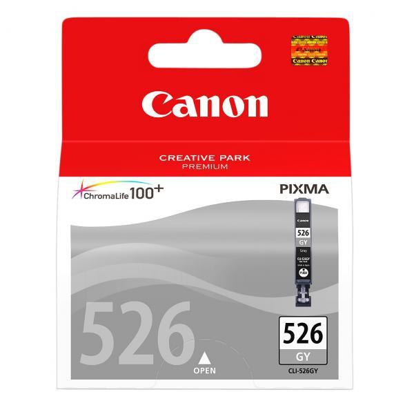 Canon CLI-526 GY - originálna cartridge, sivá, 9ml