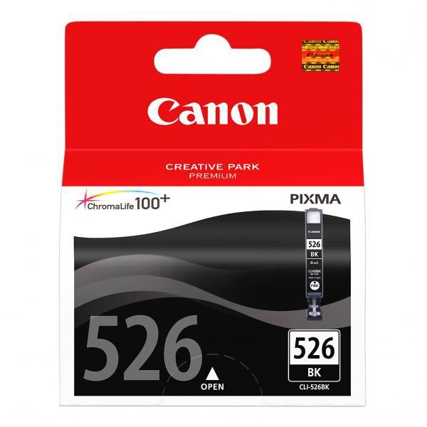 Canon CLI-526 BK - originálna cartridge, čierna, 9ml