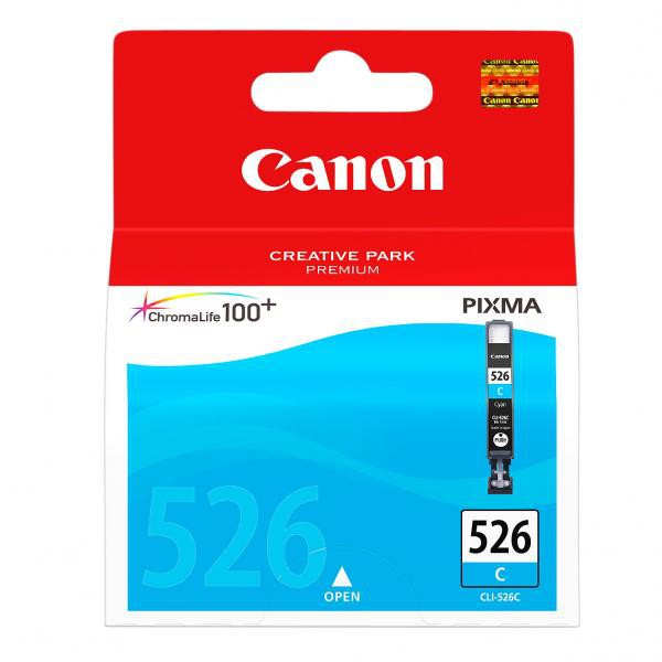 Canon CLI-526 C - originálna cartridge, azúrová, 9ml