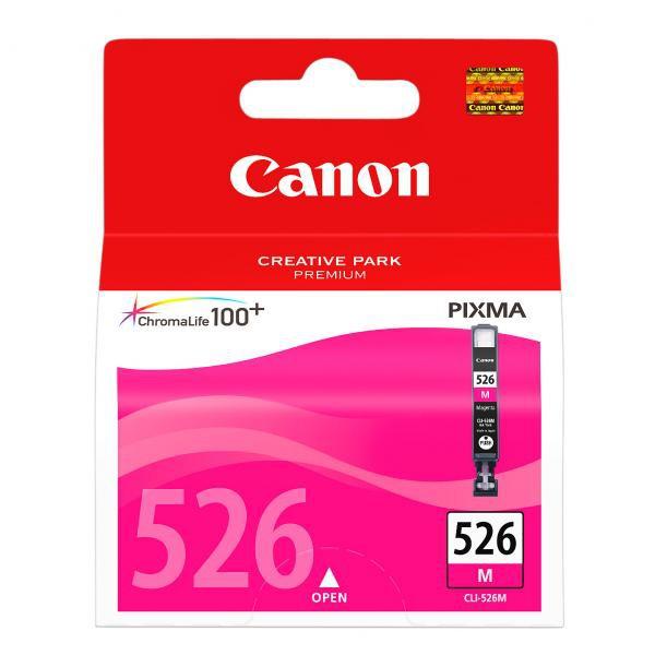 Canon CLI-526 M - originálna cartridge, purpurová, 9ml