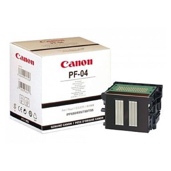 Canon PF-04 BK - originálna tlačová hlava, čierna