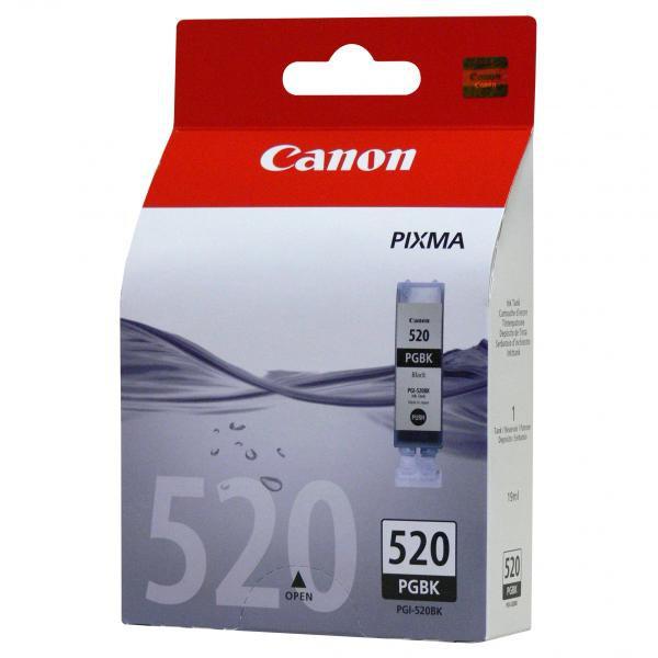 Canon PGI-520 BK - originálna cartridge, čierna, 19ml
