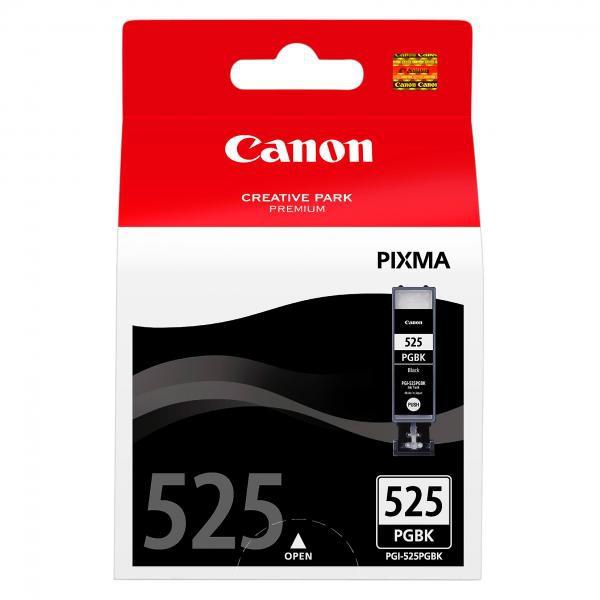 Canon PGI-525 BK - originálna cartridge, čierna, 19ml