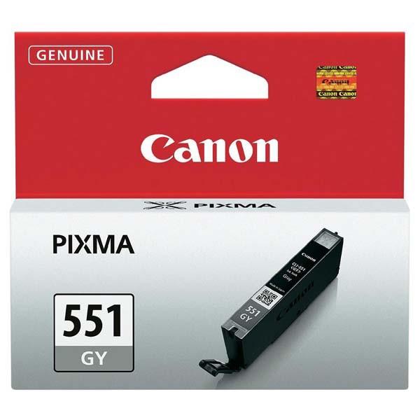 Canon originál ink CLI551GY, grey, 7ml, 6512B001, Canon PIXMA iP7250, MG5450, MG6350, MG7550